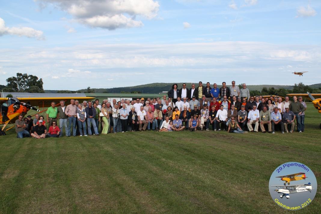 Gruppenfoto Pipertreffen 2012